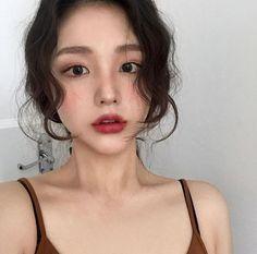 [Save=follow me] Thanks #Neiht Korean Make Up, Korean Girl, Asian Girl, Korean Aesthetic, Aesthetic Girl, Makeup Inspo, Beauty Makeup, Hair Beauty, Makeup Looks