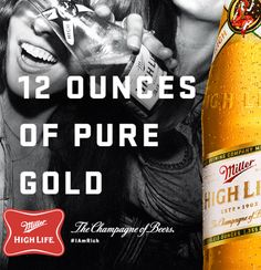 Miller High Life was born in 1903. Learn more about the ingredients we use, our rich heritage, and what's new in the world of High Life.