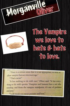 Rachel Caine/ Morganville Vampire Oliver