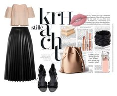 """""""Untitled #158"""" by myriamsarah on Polyvore featuring Aviù, Saachi, Lime Crime, HUGO and Dolce Vita"""