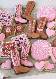 Cowgirl Cookies - by Glorious Treats