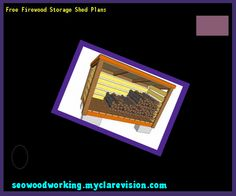 Free Firewood Storage Shed Plans 190728 - Woodworking Plans and Projects!