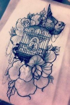 Girly Idea #cage #bird #cute