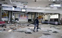 Tuhoutunut Palun lentokenttä Indonesiassa sunnuntaina. Street View