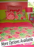 Spring Garden Party Custom Dorm Bedding Set