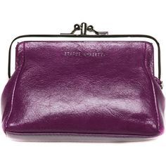 Status Anxiety Phoebe Wallet - Purple ($45) ❤ liked on Polyvore