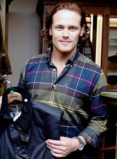 Sam Heughan attending at Barbour Event in New York   Sept. 22, 2016