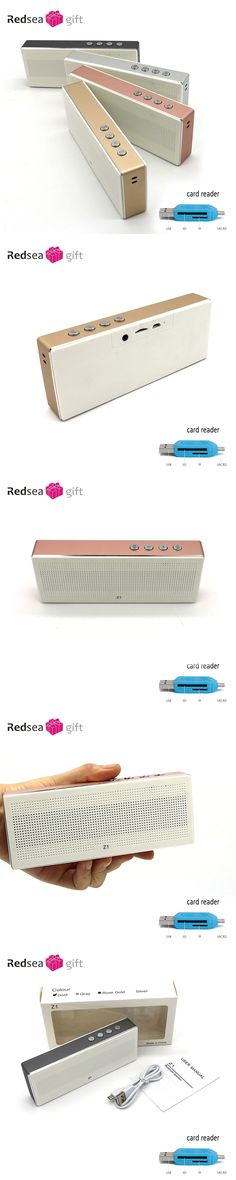 Bluetooth V2.1 Speaker Wireless Portable Stereo Mini speaker with Micro-SD Aux-in Handsfree Call MP3 Player  for Smartphone Comp
