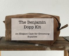 Welcome to the Benjamin Dopp Kit Sew Along! Follow along with us for  step-by-step instructions on how to make this wonderful bag. This Sew Along  will contain in-depth instructions, tons of photos, and even some videos!