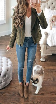 21 Best Fall Outfits For women 2019 - ClassyStylee - Winter Outfits Fashion Over 40, Fall Fashion Trends, Autumn Fashion, Fashion Ideas, Fashion Hair, Fashion Black, Fashion Fashion, Korean Fashion, Vintage Fashion