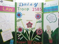 Creatively Quirky at Home: Daisy Girl Scout Kaper Chart