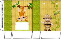 Casinha de Criança: Kit Festa Safari Para Imprimir Grátis