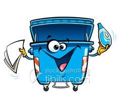 Ready for recycling? New Royalty Free Illustration at http://tibilis.com/stock