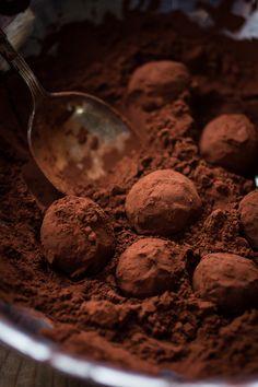 Bergamot truffles