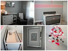 girl nurseries, nurseri idea