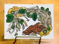 Pho Illustration Food Art Illustrated by KatrinaCastilloArt