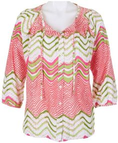 Caribbean Joe Women's Tunic Top « Clothing Impulse