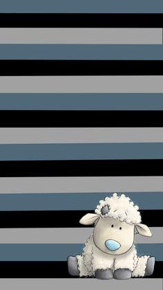 Phone Screen Wallpaper, Flower Phone Wallpaper, Bear Wallpaper, Iphone Background Wallpaper, Cellphone Wallpaper, Cute Cartoon Wallpapers, Pretty Wallpapers, Nici Teddy, Sheep Cartoon