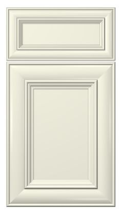classic door style :: painted :: antique white #kitchen #cabinets #doors