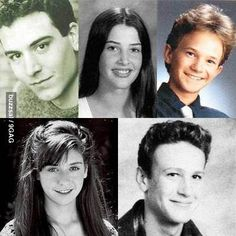 How I Met Your Mother cast ( Josh Radner, Cobie Smulders, Neil Patrick Harris, Alyson Hannigan, Jason Segel )