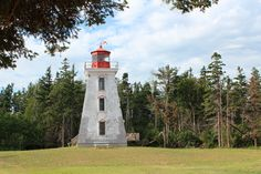 Life on Island : Cape Bear Lighthouse