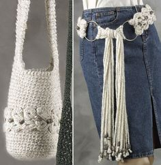 Broomstick Lace Bag and Belt Patterns
