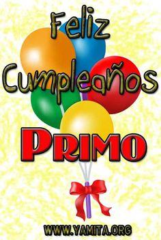 happy birthday primo animado | Feliz Cumpleaños Primo I - Tarjetas Cristianas