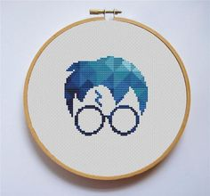 Harry Potter modern silhouette [Cross Stitch PDF Pattern] Pattern Details: Stitches: x DMC colors: 12 Stitched Area Size: x inches or x cm based on fabric Attention! Size of the pattern do not include the margins. You should add cm) on every side to Cross Stitch Games, Cross Stitch Art, Simple Cross Stitch, Cross Stitching, Cross Stitch Embroidery, Cross Stitch Silhouette, Cross Stitch Patterns Free Easy, Cross Stitch Designs, Harry Potter Cross Stitch Pattern