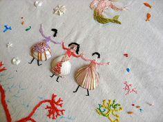 Mejores proyectos de bordado del 2013 / Best embroidery projects of 2013 / Meilleurs projets de brodérie de 2013 - Misako Mimoko http://misakomimoko.blogspot.com.es/2013/08/talleres-de-verano-picnic-en-barcelona.html