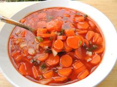 Copper Pennies (Sweet & Sour Carrots): if you love tangy veggie salads, you're in for a treat that you'll crave the rest of your life! Carrot Recipes, Vegetable Recipes, Carrot Dishes, Easter Recipes, Thanksgiving Recipes, Holiday Recipes, Copper Penny Salad, Sweet And Sour Recipes, Sweet And Sour Carrots Recipe