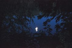 Moon reflections on river Tisza. Photograph by Nojka Mattyasovszky