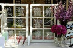 Guest List Glass Boards