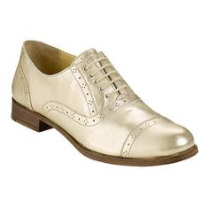 Cole Haan Gold Women's Oxfords