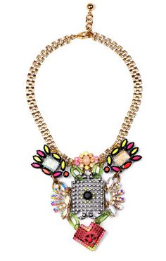 Fancy - Hand-Painted Revolution Necklace by Lulu Frost