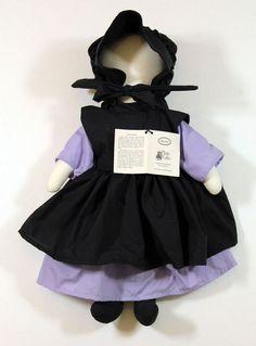 Plain Folks Faceless Rachel Amish Doll Plush Dutch Country 1983 NEW Amish Dolls, Doll Patterns, Dutch, Folk, Plush, Flower Girl Dresses, Country, Best Deals, Wedding Dresses