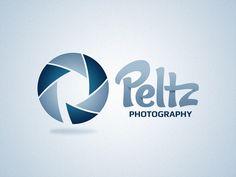 Peltz Photography Logo #logo #branding Typography, Lettering, Best Logo Design, Photography Logos, Cool Logo, Logo Inspiration, Logo Branding, Print Design, Iris
