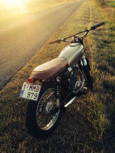 Honda cb 125 by ralph claes