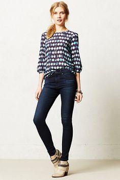 AG Farrah High-Rise Skinny Jeans from Anthropologie - $168.00