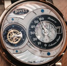 "Bovet Fleurier Recital 15 Watch Hands-On - by Ariel Adams - have a closer look and read more: http://www.ablogtowatch.com/bovet-recital-15-watch-hands/ ""Each released during the same year, the Bovet Dimier Recital 15 is the slightly larger brother of the Bovet Dimier Recital 12 watch... I really liked the Recital 12 for a range of reasons. It is not only the first Recital family watch that is good for daily wear, but it is also the the thinnest, and houses a new in-house made Bovet…"