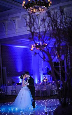 Nicholas and Samantha's Walt Disney World wedding reception was incredibly enchanting