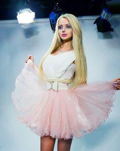 Valeria Lukyanova Those contacts doe ❤️❤️