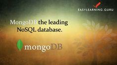 Mongodb tutorial at Easylearning Guru MongoDB Online Tutorial with Examples by MongoDB Experts at Easylearning Guru. we are provide Beginner to advanced label MongoDB Online Training.