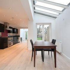 for sale in peckham... side return extension and a further conservatory extension at the back?