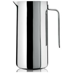 Alessi Adagio Double Wall Thermo Insulated Jug A405/100 (220 AUD) ❤ liked on Polyvore featuring home, kitchen & dining, serveware, stainless steel jug, thermo jug, alessi and thermal jug