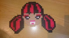 Draculaura monster high hama beads