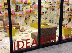 Oak Park Public Library's Idea Box. One of my favorite examples of libraries thinking outside (or in this case inside) the box. I love everything about this and it really solidified the idea of library engagement and participatory experience for me.   Is there a particular example of libraries in action that inspired you this semester?