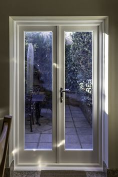 Examine this vital graphics and look into today facts and strategies on french door curtains Narrow French Doors, Double French Doors, French Windows, French Patio, French Doors Patio, Doors And Floors, Windows And Doors, Kitchen Patio Doors, Victorian Terrace House