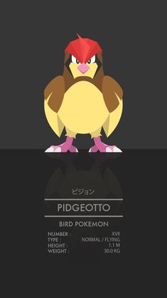 Pidgeotto by WEAPONIX on deviantART