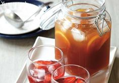 Explore different brands and types of tea, then add your own twist by using flavored syrups.