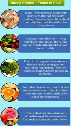 Foods To Eat During Kidney Stones